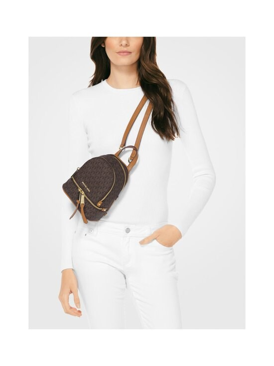 Michael Michael Kors - Rhea Mini Backpack -reppu - BROWN PATTERN | Stockmann - photo 4