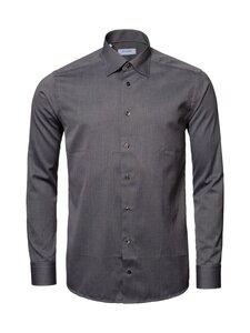 Eton - Shirt Slim Flannel -kauluspaita - 38 BROWN | Stockmann