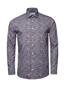 Eton - Shirt Slim Scandinavian Paisley Print -kauluspaita - 55 RED | Stockmann