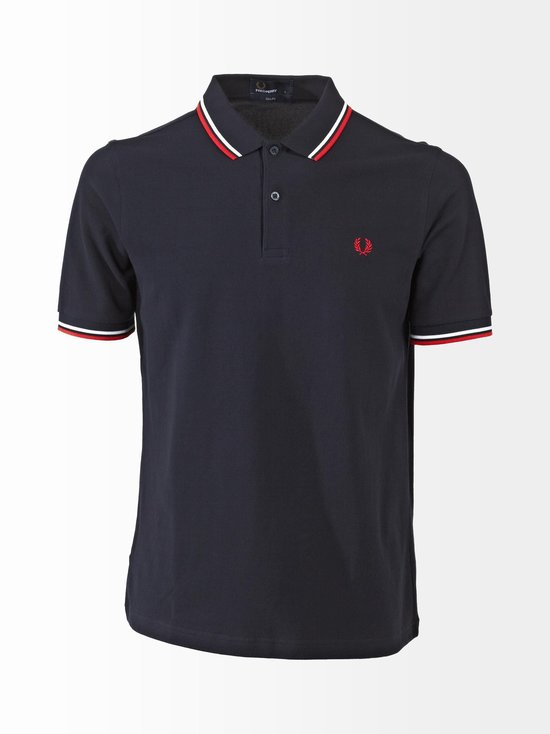 Fred Perry - Slim Fit -pikeepaita - NAVY | Stockmann - photo 1