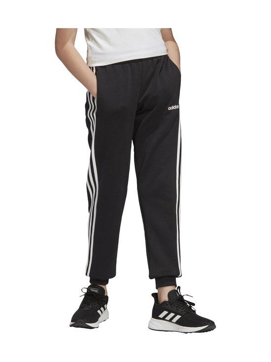 adidas Performance - Essentials 3-Stripes -collegehousut - BLACK/WHITE   Stockmann - photo 6