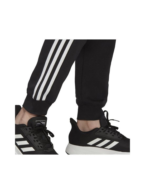 adidas Performance - Essentials 3-Stripes -collegehousut - BLACK/WHITE   Stockmann - photo 9