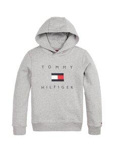 Tommy Hilfiger - TH Logo -huppari - P6U MID GREY HTR | Stockmann