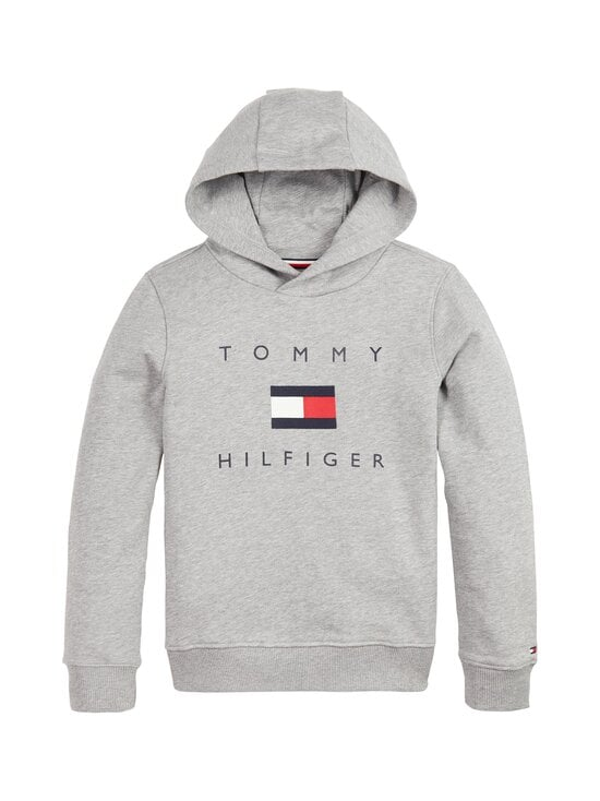 Tommy Hilfiger - TH Logo -huppari - P6U MID GREY HTR   Stockmann - photo 1