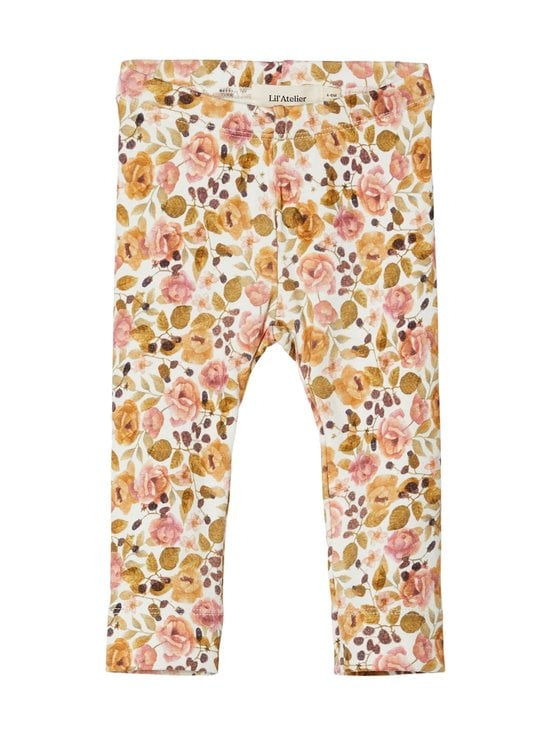 Lil' Atelier - NbfGaya-leggingsit - TURTLEDOVE AOP:. | Stockmann - photo 1