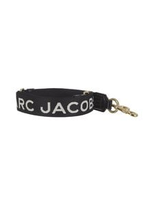 Marc Jacobs - MJ Graphic Thin Webbing -olkahihna - BLACK/GOLD 065 | Stockmann