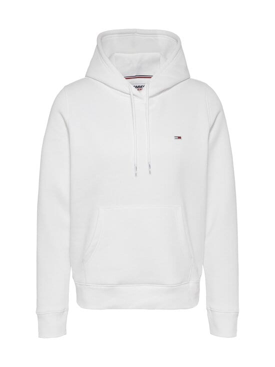 Tommy Jeans - TJW Regular Fleece Hoodie -huppari - YBR WHITE | Stockmann - photo 1