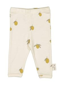 Konges Sløjd - New Born Pants Lemon -housut - LEMON | Stockmann