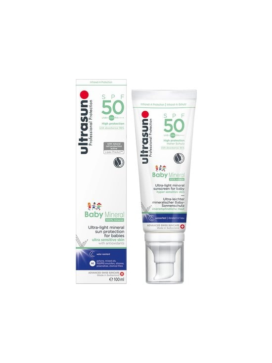 Ultrasun - Baby Mineral SPF 50 -aurinkosuoja 100 ml - NOCOL | Stockmann - photo 1
