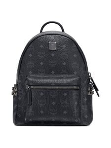 MCM - Stark Side Studs Backpack in Visetos -reppu - BLACK | Stockmann