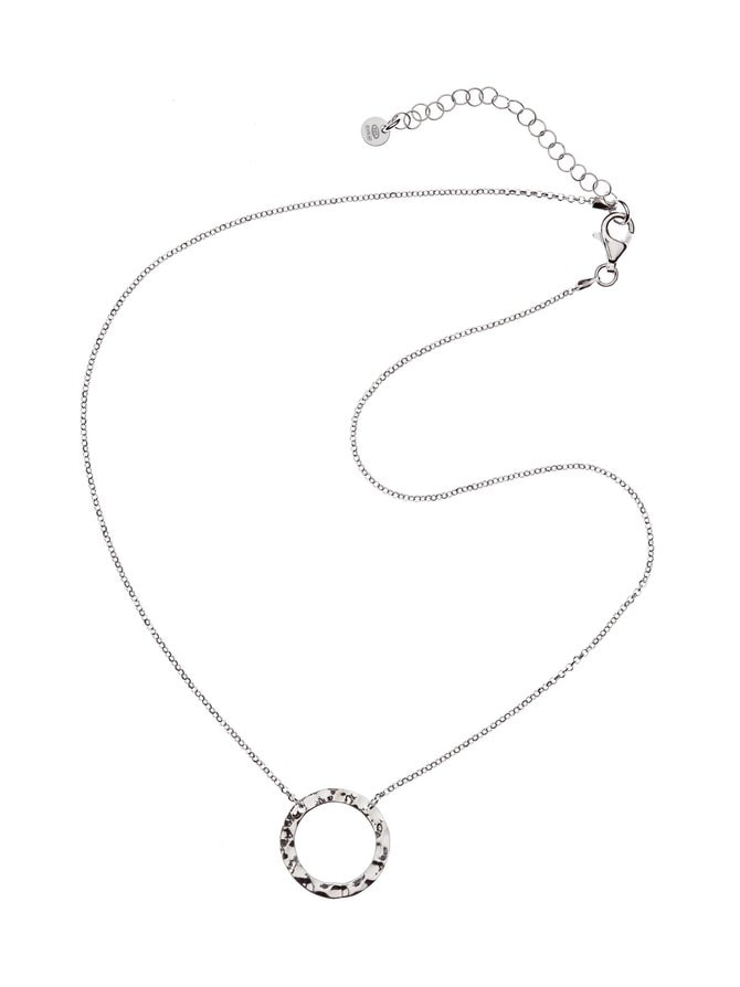 Ring Flat Pendant -kaulakoru