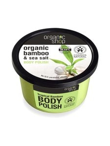 Organic Shop - Organic Bamboo & Sea Salt Body Polish -vartalokuorinta 250 ml | Stockmann