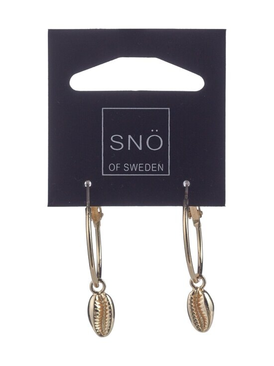 Snö Of Sweden - Shelly Ring -korvakorut - PLAIN G | Stockmann - photo 1