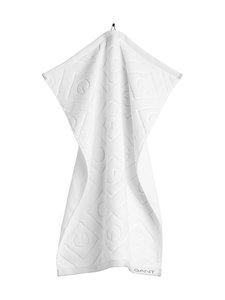 Gant Home - Organic G -pyyhe 50 x 70 cm - 110 WHITE | Stockmann
