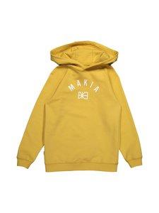 Makia - Brand Hooded Sweatshirt -huppari - OCHRE | Stockmann