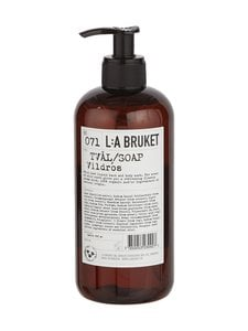 L:A Bruket - No 71 Wild Rose -nestesaippua 450 ml | Stockmann