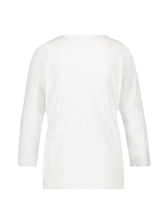 Gerry Weber Edition - Puuvillasekoiteneule - 99600 WHITE | Stockmann - photo 2