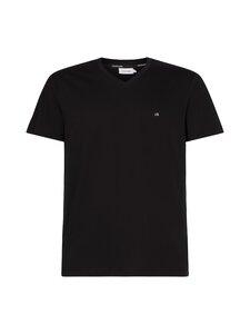 Calvin Klein Menswear - Logo Embroidery V-Neck T-Shirt -paita - BEH CK BLACK | Stockmann