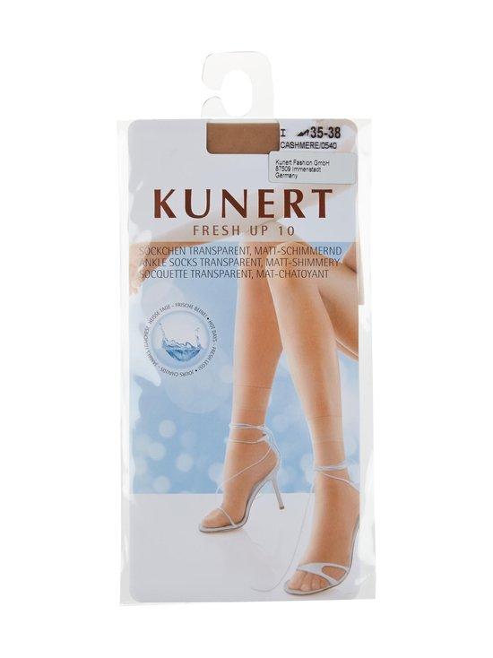 Kunert - Fresh Up 10 -nilkkasukat - CASHMERE (BEIGE) | Stockmann - photo 1