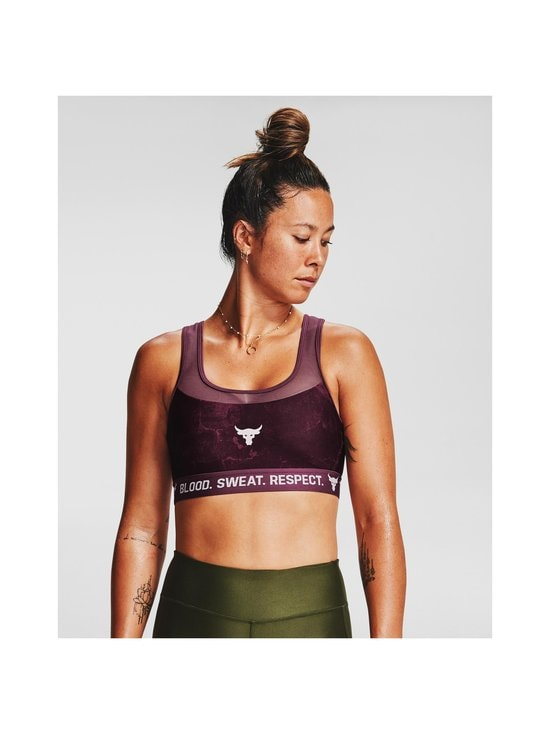 Under Armour - Project Rock -urheiluliivit - 569 LEVEL PURPLE / / ROSEWATER | Stockmann - photo 5