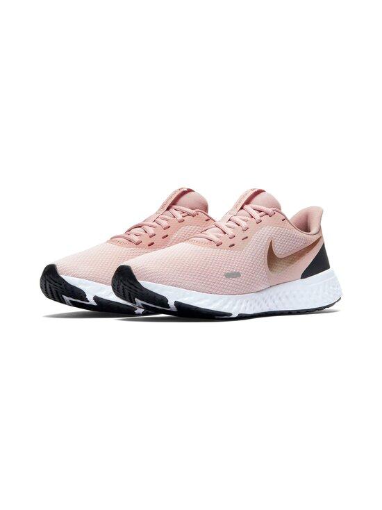 Nike - Revolution 5 -juoksukengät - 600 BARELY ROSE/STONE MAUVE/BLACK/METALLIC RED BRONZE   Stockmann - photo 4
