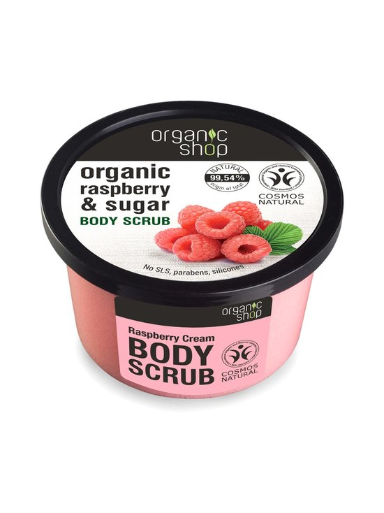 Organic Shop - Raspberry & Sugar Body Scrub -vartalokuorinta 250 ml - null | Stockmann - photo 1