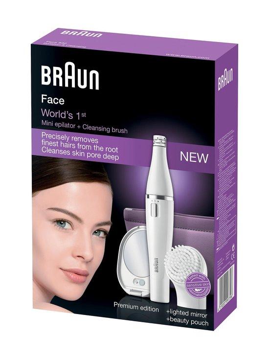 Braun - Face SE830 Premium Edition -epilaattori ja kasvoharja | Stockmann - photo 2
