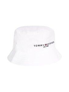 Tommy Hilfiger - TH Established Bucket Hat -hattu - YCF TH OPTIC WHITE | Stockmann