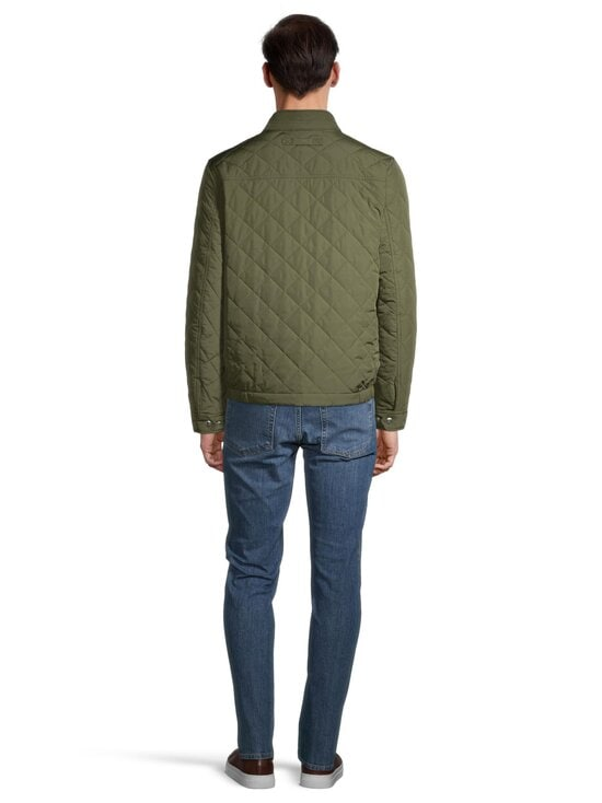 GANT - Quilted Windcheater -takki - 372 DARK LEAF | Stockmann - photo 3