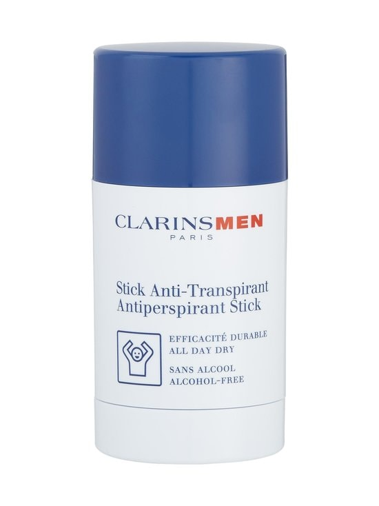 Clarins - Clarins Men Antiperspirant Deodorant-Stick -deodorantti 75 ml - null | Stockmann - photo 1