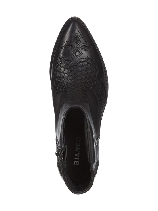 BIANCO - BiaCuba Snake Western Boots -nahkanilkkurit - 100 BLACK | Stockmann - photo 2