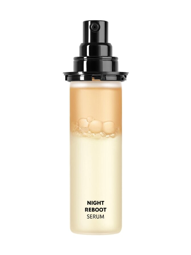 Pure Shots Night Reboot Serum -yöseerumi, täyttöpakkaus 30 ml