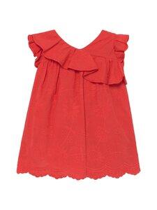Mayoral - Embroidered dress frills -mekko - 34 POPPY | Stockmann