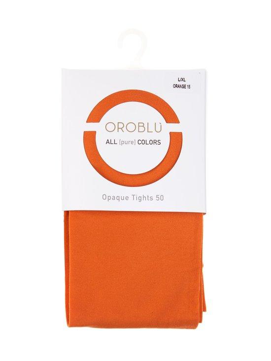 Oroblu - All Colors 50 den -sukkahousut - ORANGE 15 | Stockmann - photo 1