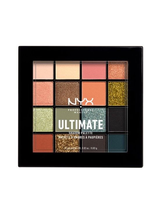 NYX Professional Makeup - Ultimate Shadow Palette -luomiväripaletti 13,3 g - 12W UTOPIA | Stockmann - photo 1