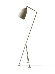 Gubi - Gräshoppa Floor Lamp -lattiavalaisin 125 cm - WARM GREY SEMI MATT | Stockmann