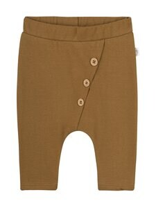 Sanetta Pure - Baby Boy Trousers with Bottons -housut - 18040 GOLDEN BROWN   Stockmann
