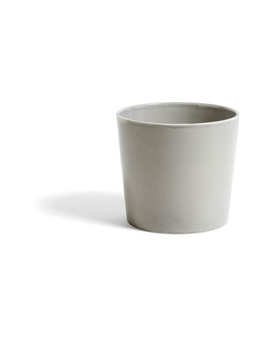 HAY - Botanical Family Pot L -kukkaruukku Ø 18 cm - LIGHT GREY | Stockmann - photo 1