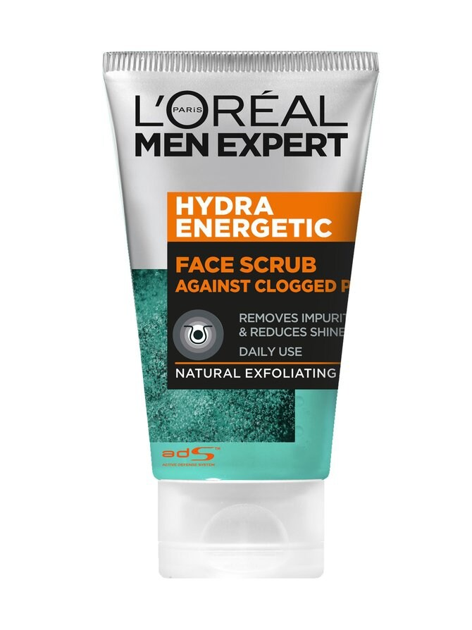 Men Expert Face Scrub Against Clogged Pores -kuorintageeli 100 ml