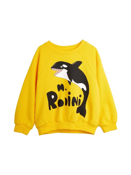 Mini Rodini - Orca-collegepaita - YELLOW | Stockmann - photo 1