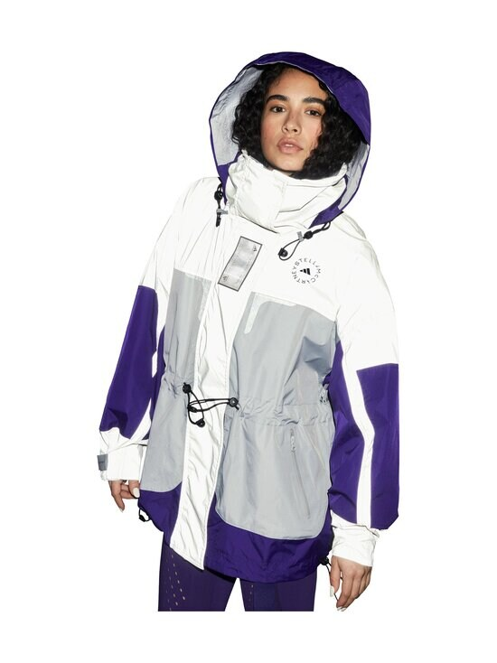adidas by Stella McCartney - Reflective-takki - REFLECTIVE SILVER/CLEAR ONIX/COLLEGIATE PURPLE   Stockmann - photo 10
