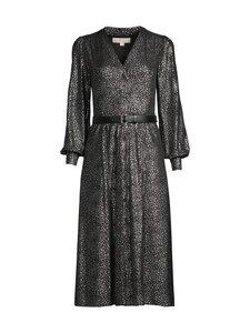 Michael Michael Kors - Metallic Star Georgette Shirtdress -mekko - 099 BLK/SILVER | Stockmann