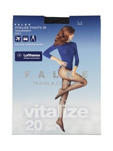 Falke - Vitalize 20 den -tukisukkahousut - 3009 BLACK | Stockmann