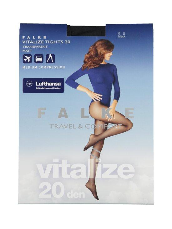 Falke - Vitalize 20 den -tukisukkahousut - 3009 BLACK | Stockmann - photo 1
