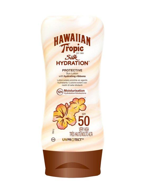 Hawaiian Tropic - Silky Hydration Sun Emulsion SPF 50 -aurinkosuojavoide 180 ml - null | Stockmann - photo 1