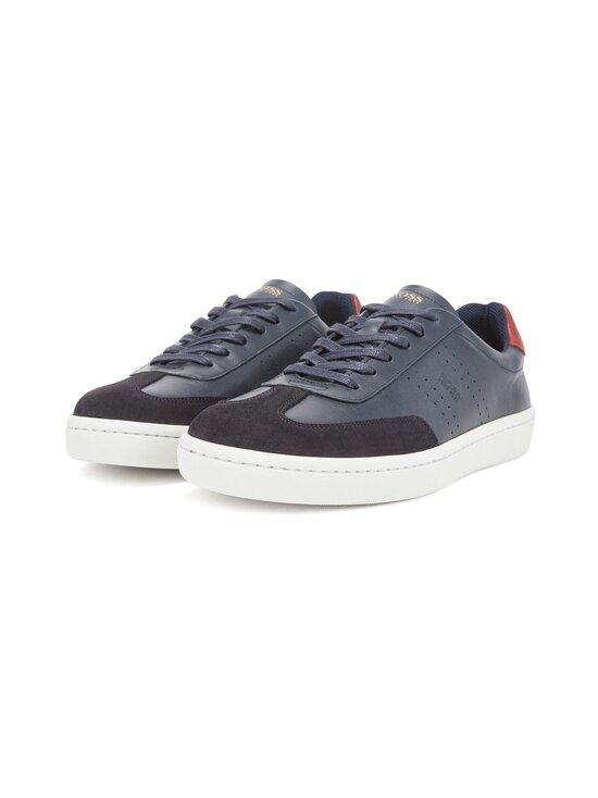 BOSS - Ribeira_Tenn_ltwt-nahkasneakerit - 401 DARK BLUE | Stockmann - photo 1