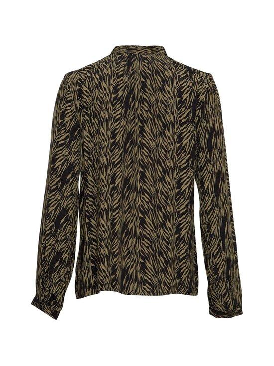 Moss Copenhagen - Calie Morocco LS Shirt AOP -pusero - SAGE ZEBRA | Stockmann - photo 2