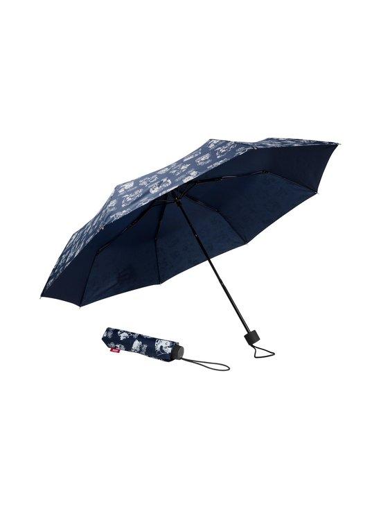 Lasessor - Muumi lomalla -sateenvarjo - SININEN/VALKOINEN | Stockmann - photo 1