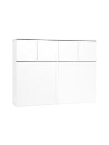 Lundia - Fuuga-senkki 128 x 100 x 35 cm - VALKOINEN | Stockmann