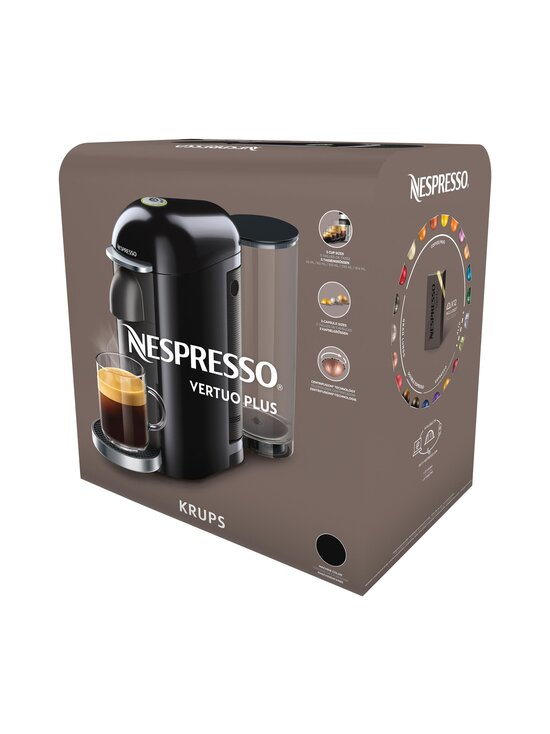 Nespresso - VertuoPlus-kapselikahvinkeitin By Krups - BLACK | Stockmann - photo 7